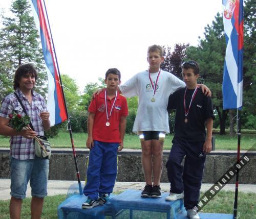 TK Sprint - Lazar Dedić na najvišem postolju